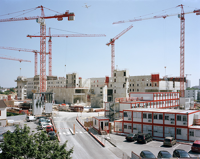 Le chantier des Archives nationales, Pierrefitte-sur-Seine, 3 juin 2010
