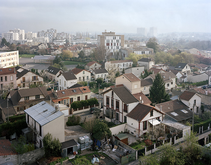 View from the roof of the National Archives Building, Pierrefitte-sur-Seine, April 7, 2010