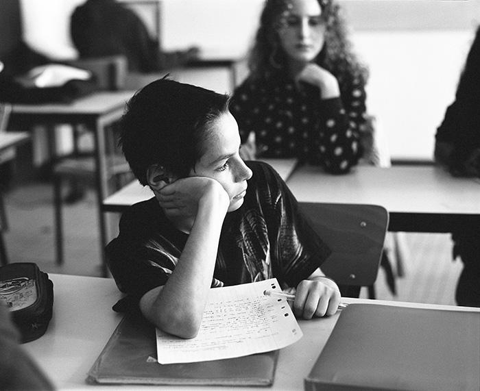 Year 7 pupil, inner-city school Jean-Jaurès, Montreuil, 2010
